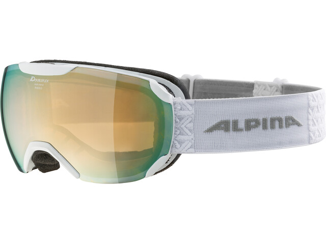 Alpina Pheos S MM Lunettes de protection, white mandarin spherical